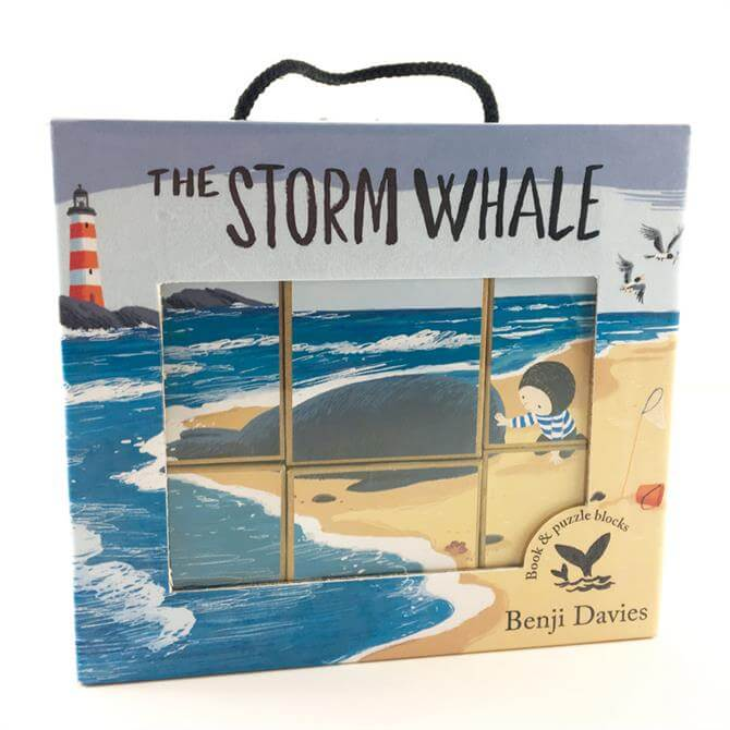 The Storm Whale Book & Puzzle by Benji Davies