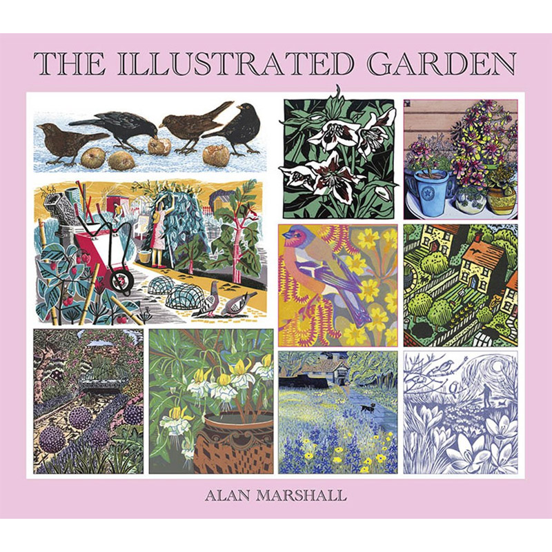 An image of The Illustrated Garden by Alan Marshall (Paperback)