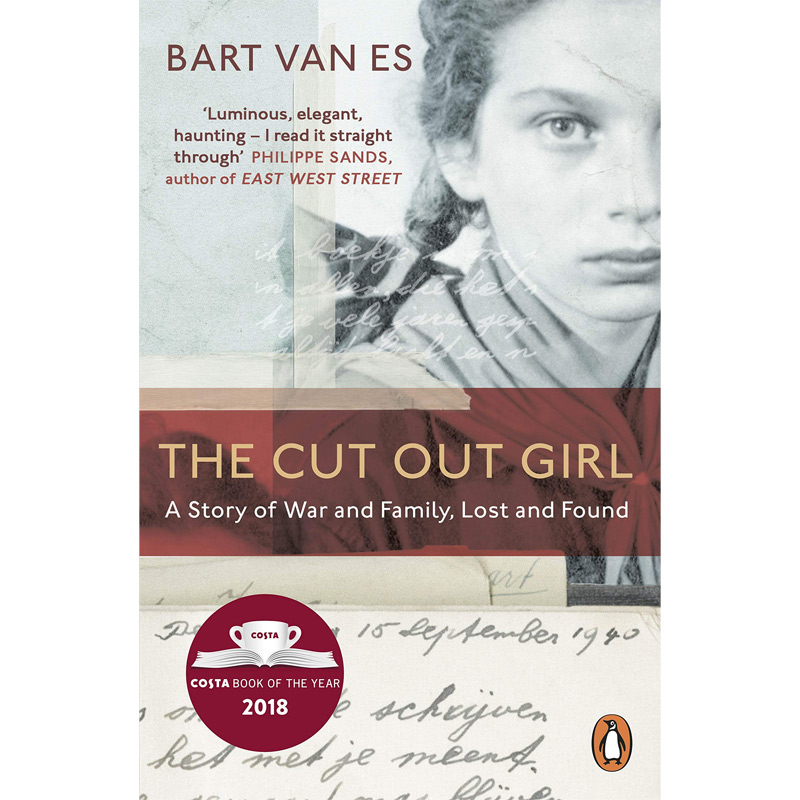 An image of The Cut Out Girl by Bart van Es (Paperback)