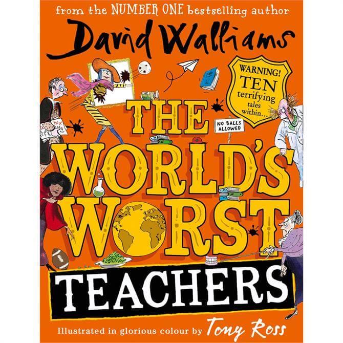 The World's Worst Teachers By David Walliams (Hardback)