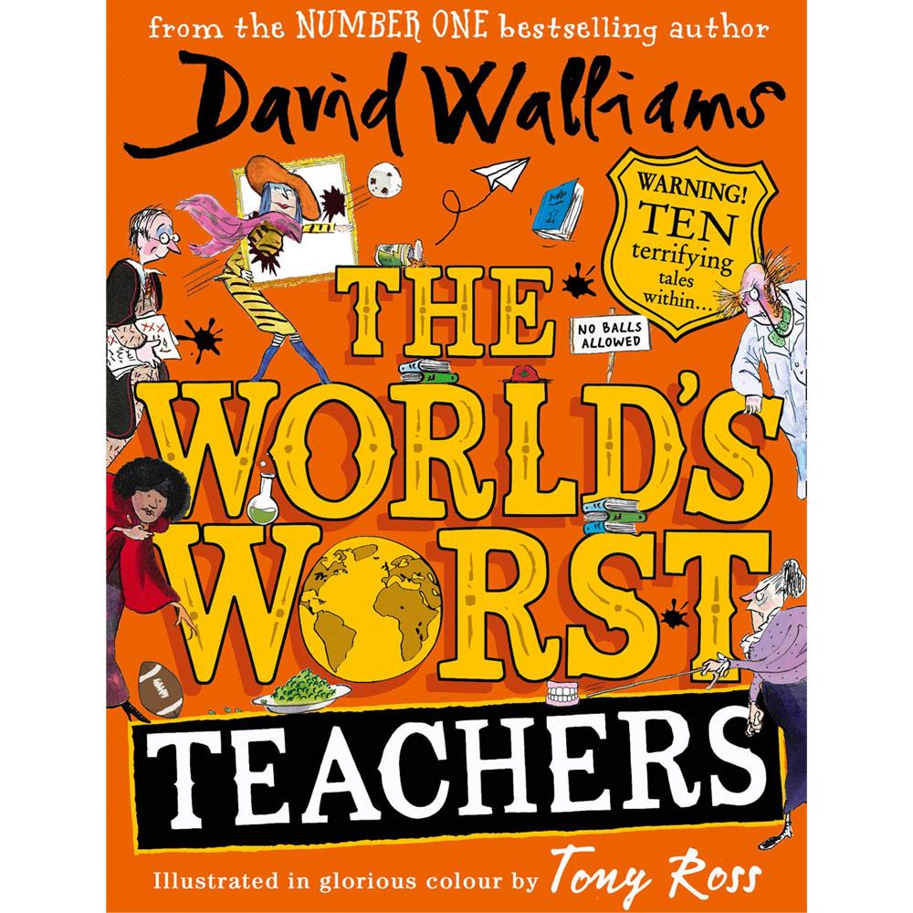 An image of The World's Worst Teachers By David Walliams (Hardback)