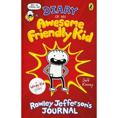 An image of Diary of an Awesome Friendly Kid: Rowley Jefferson's Journal - Diary of a Wimpy ...
