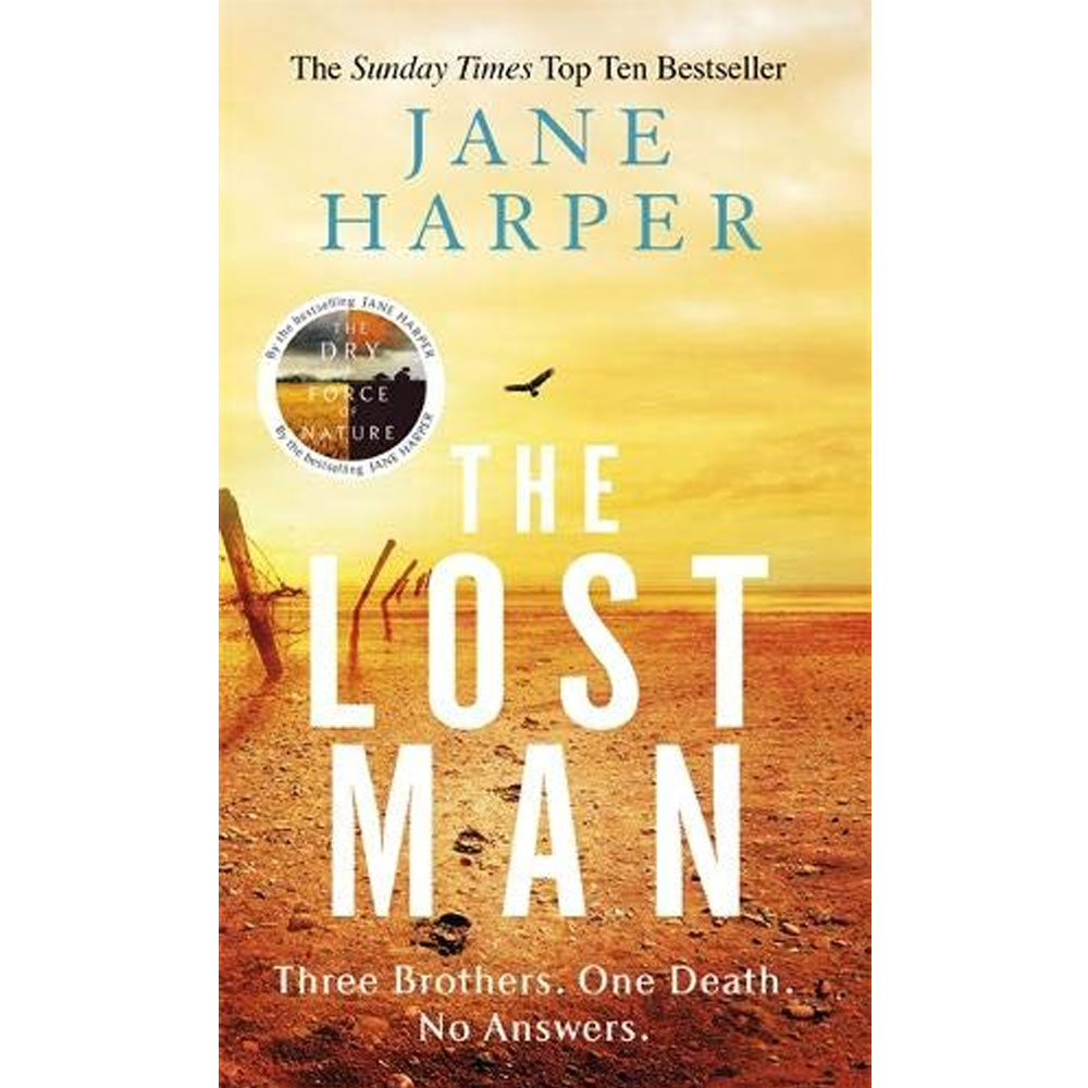 An image of The Lost Man By Jane Harper (Paperback)