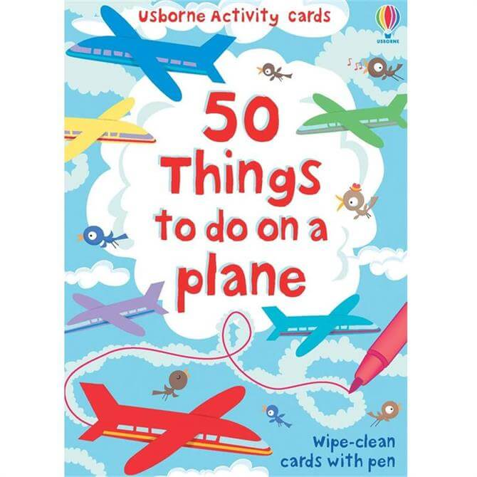 50 Things to Do on a Plane - Activity and Puzzle Cards
