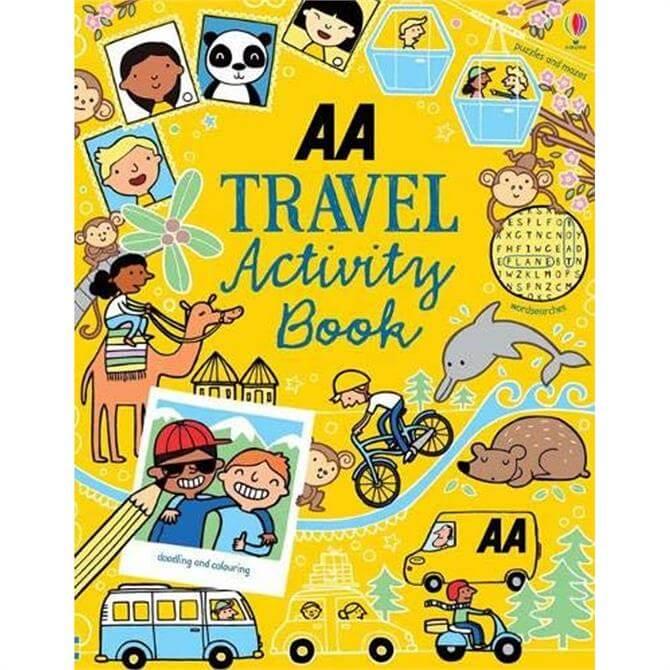 Travel Activity Book (Paperback)