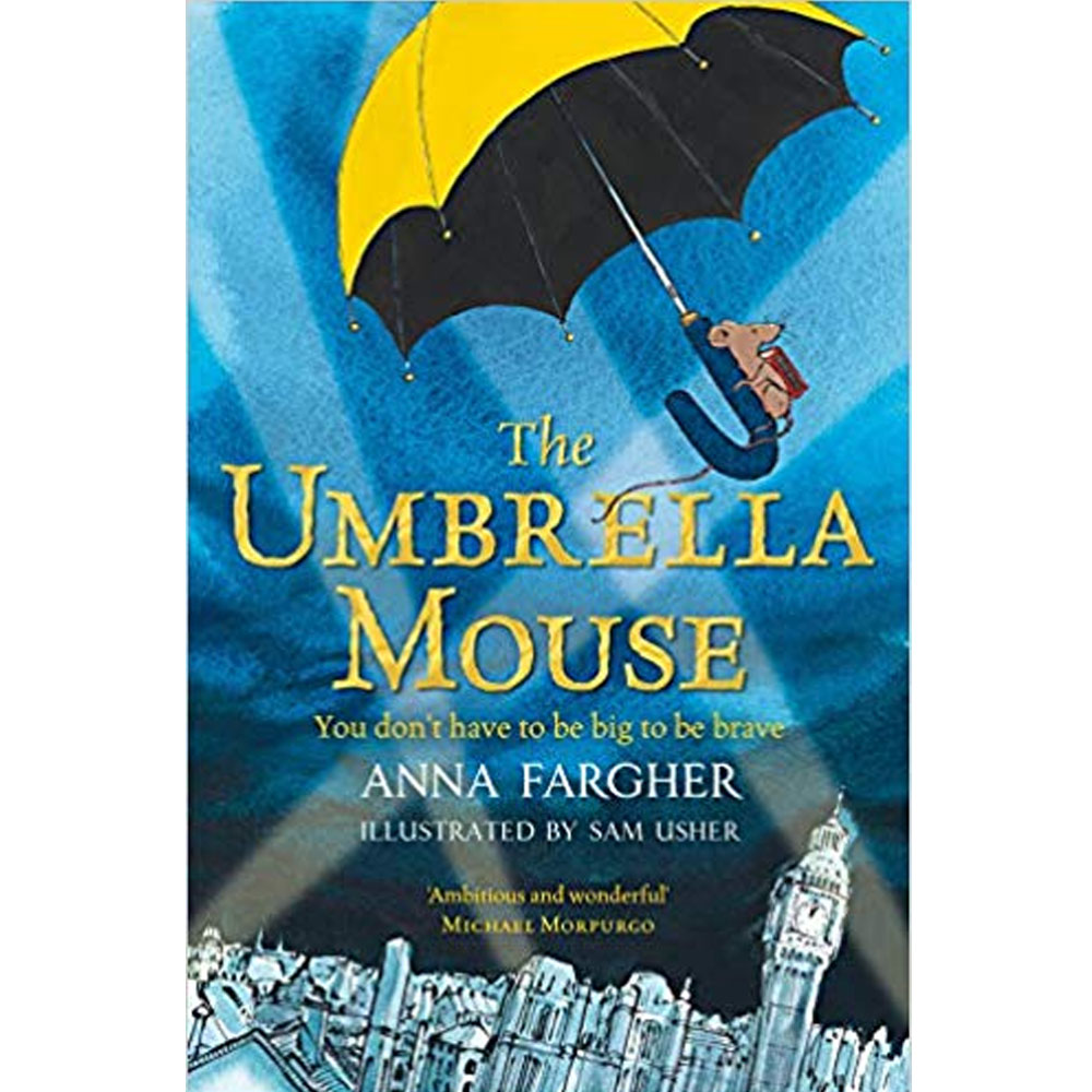 An image of The Umbrella Mouse By Anna Fargher (Paperback)