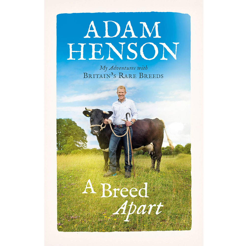 An image of A Breed Apart: My Adventures with Britain's Rare Breeds By Adam Henson (Hardback...