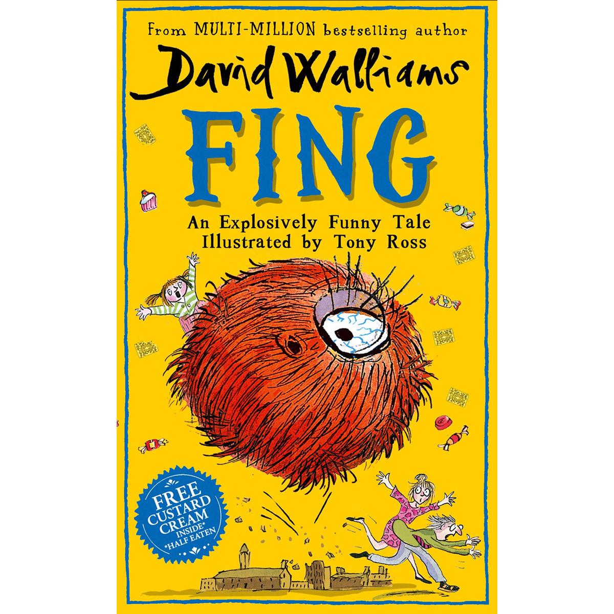 An image of Fing by David Walliams & Tony Ross (Hardback)