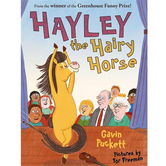 Hayley the Hairy Horse - Fables from the Stables by Gavin Puckett(Paperback)