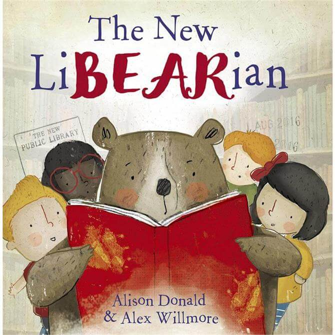 The New LiBEARian by Alison Donald & Alex Willmore (Paperback)