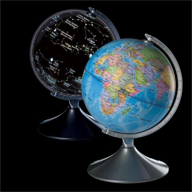 Brainstorm Earth & Constellations 2 in 1 Globe