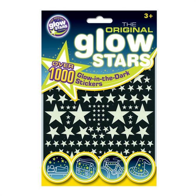 Brainstorm Original Glowstars 1000Pk