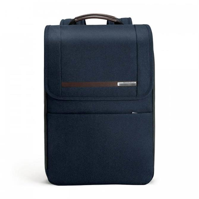 Briggs & Riley Kinzie Street Flapover Expandable Backpack - Navy