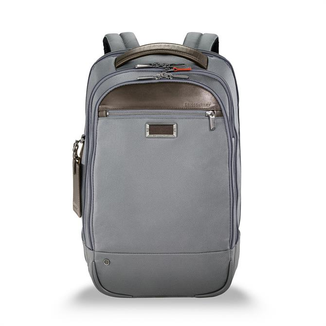 Briggs & Riley At Work Medium Business Backpack - Grey