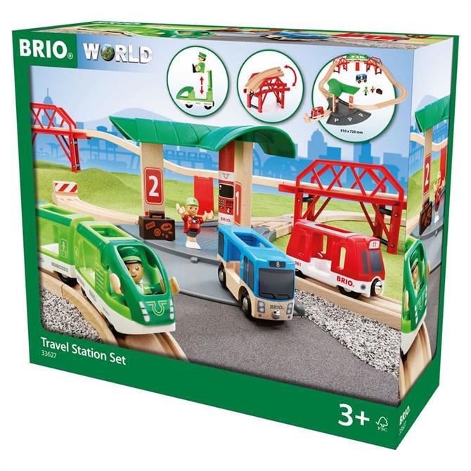 Brio Travel Station Set