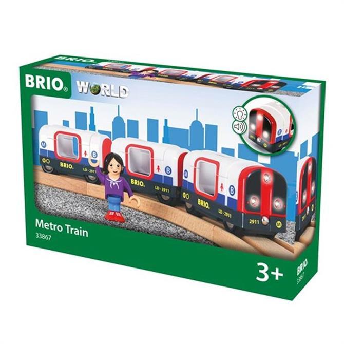 Brio Tube Metro Train