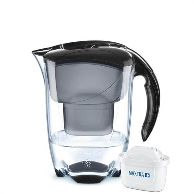 Brita Elemaris Black Cool Water Filter Jug
