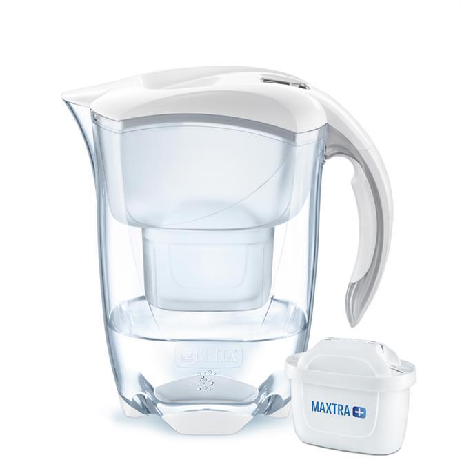 Brita Elemaris White Cool Water Filter Jug