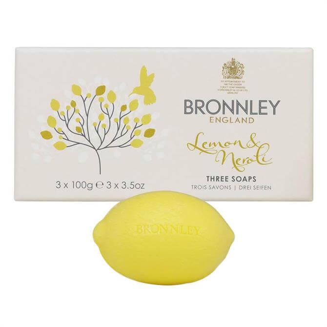 Bronnley Citrus Soaps 3 X 100G