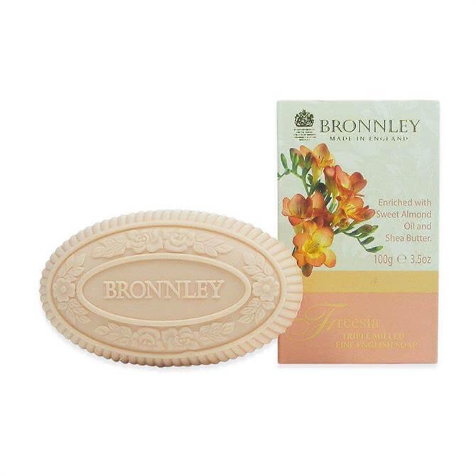 Bronnley Freesia Triple Milled Fine Eng Soap 1X100g