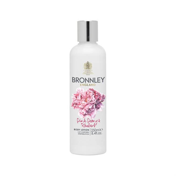 Bronnley RHS Pink Peony and Rhubarb Body Lotion 250ml