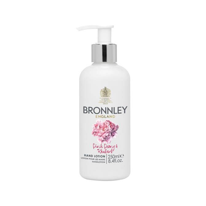 Bronnley RHS Pink Peony and Rhubarb Hand Lotion 250ml