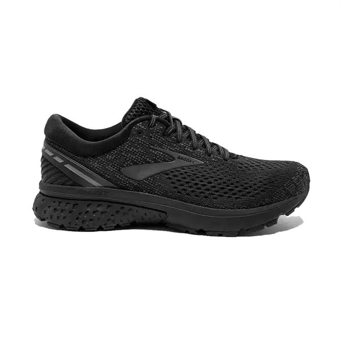 Brooks Men's Ghost 11 Running Shoes- Black/Ebony