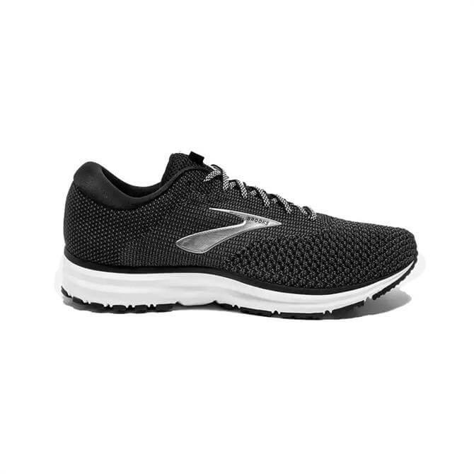 Brooks Men's Revel 2 Running Shoe- Black/Grey
