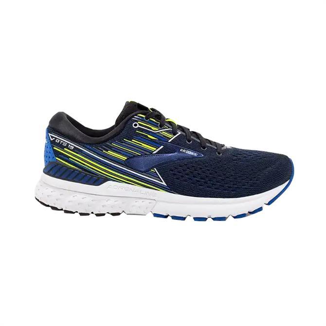 Brooks Men's Adrenaline GTS 19 Running Shoe - Blue Nightlife