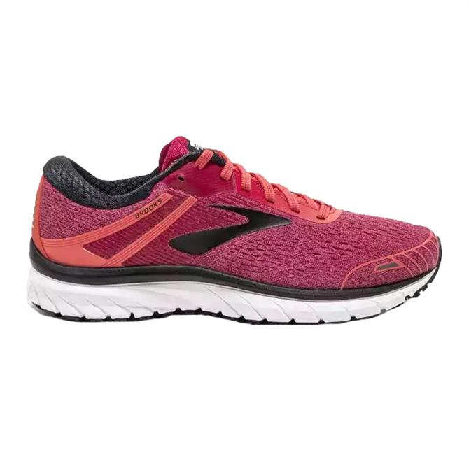 Brook Women's Adrenaline GTS 18 Running Shoe Coral