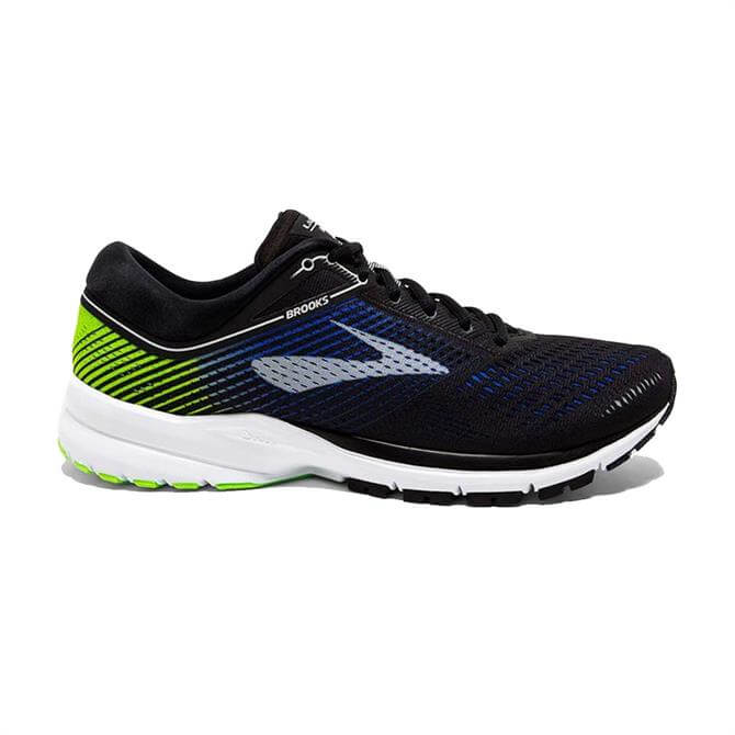 Brooks Men's Launch 5 Road Running Shoe- Blue/Black