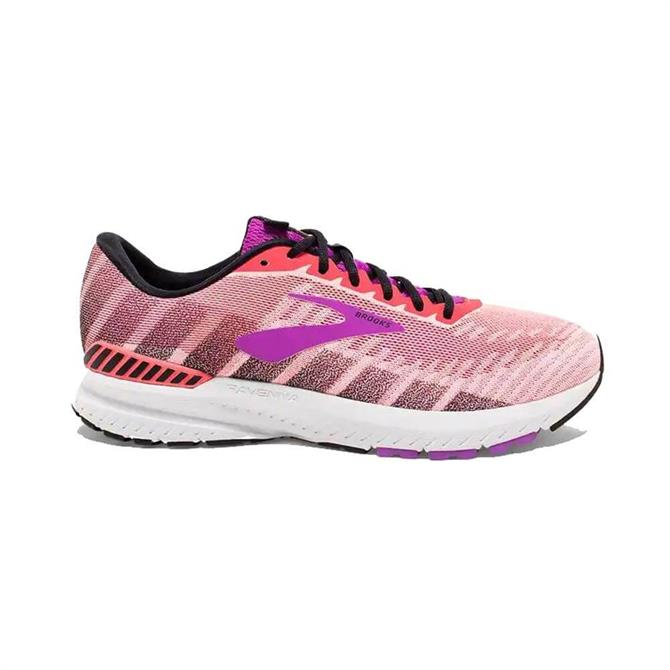 Brooks Women's Ravenna 10 Running Shoe - Coral/Purple
