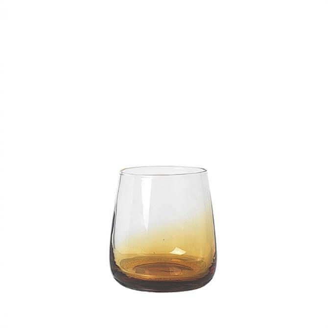 Broste Copenhagen Amber Glass Tumbler