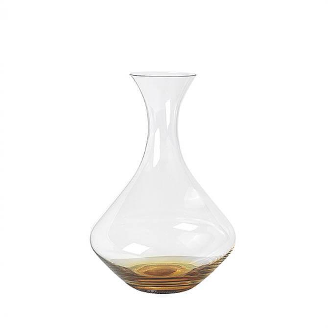 Broste Copenhagen Amber Glass Decanter