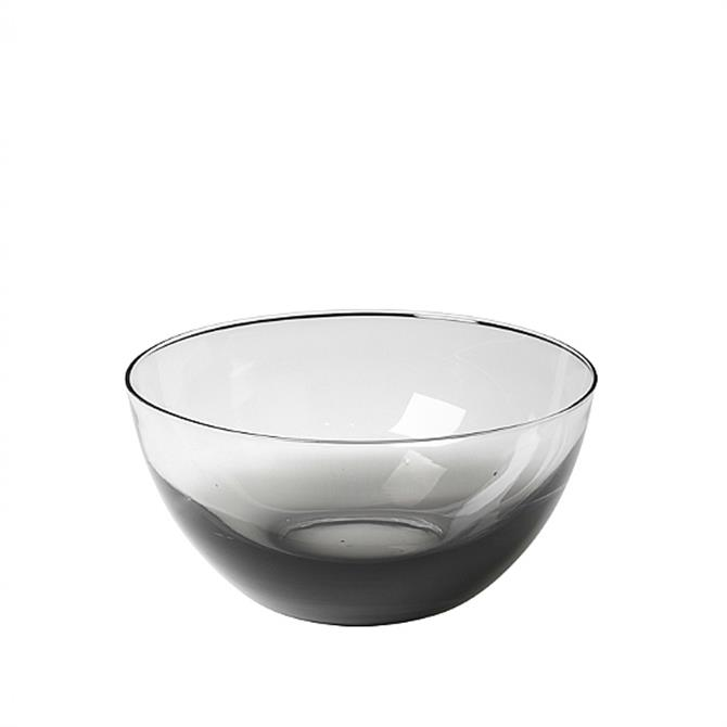 Broste Copenhagen Smoke Mouthblown Glass Bowl