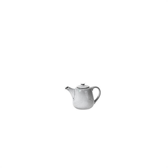 Broste Copenhagen Nordic Sand Stoneware Teapot for One
