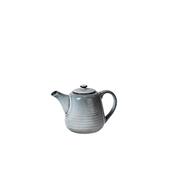 Broste Copenhagen Nordic Sea Stoneware Teapot for One