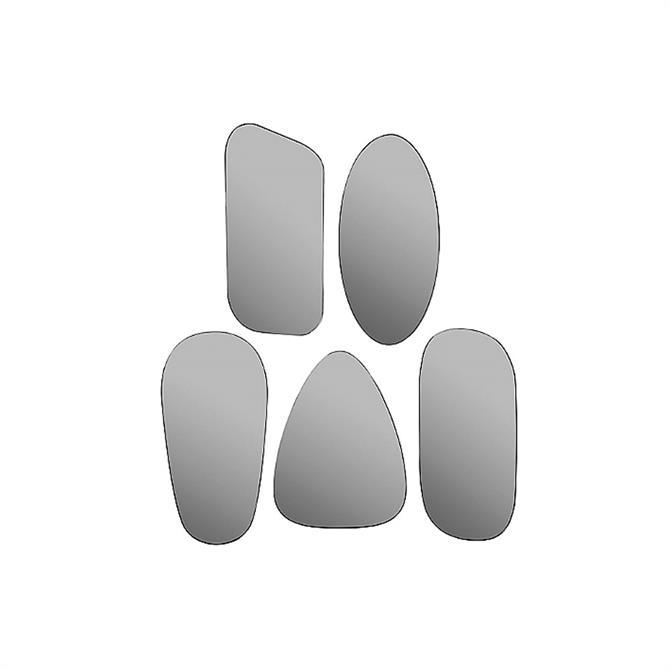 Broste Copenhagen Grey Mirror Art