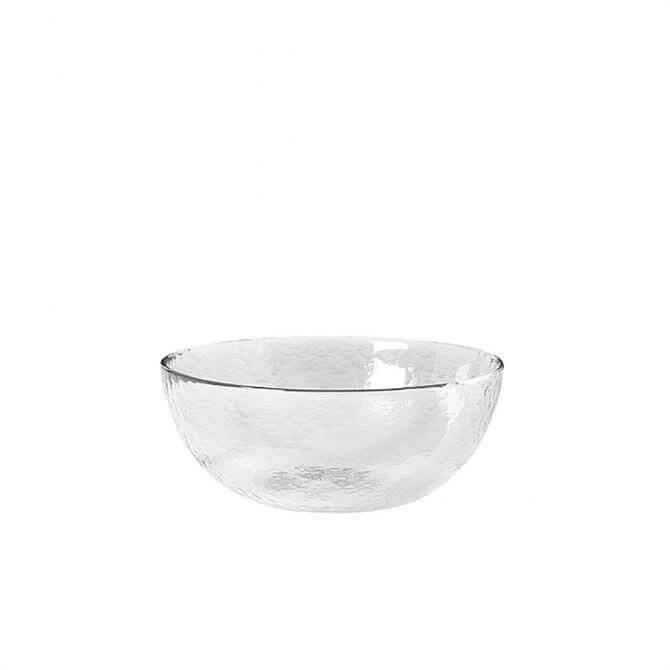 Broste Copenhagen 'Hammered' Glass Bowl