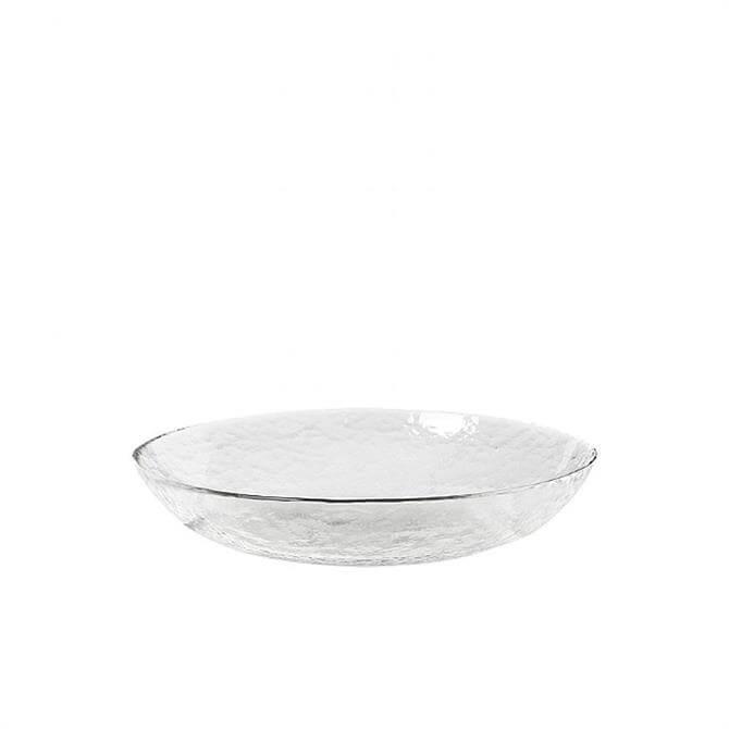 Broste Copenhagen 'Hammered' Glass Dish