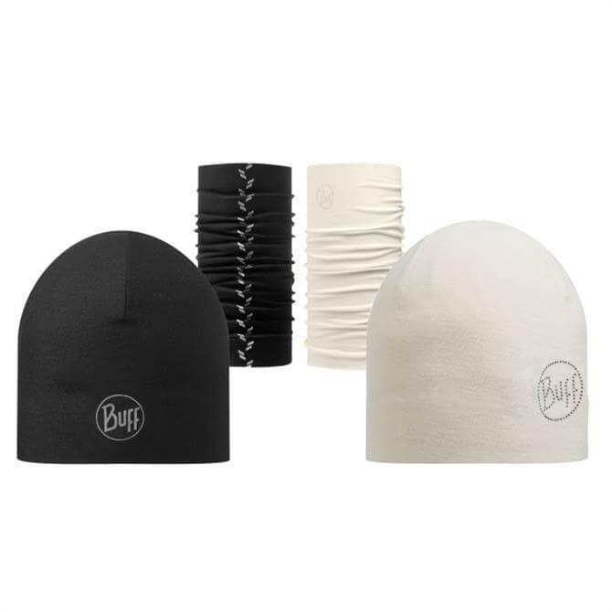 Buff Microfibre 2 Layer Hat
