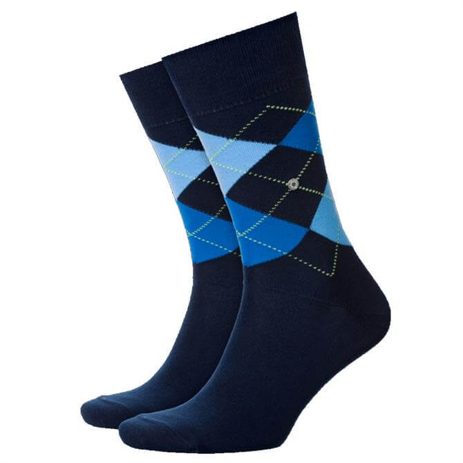 Burlington King Mens Argyle Socks