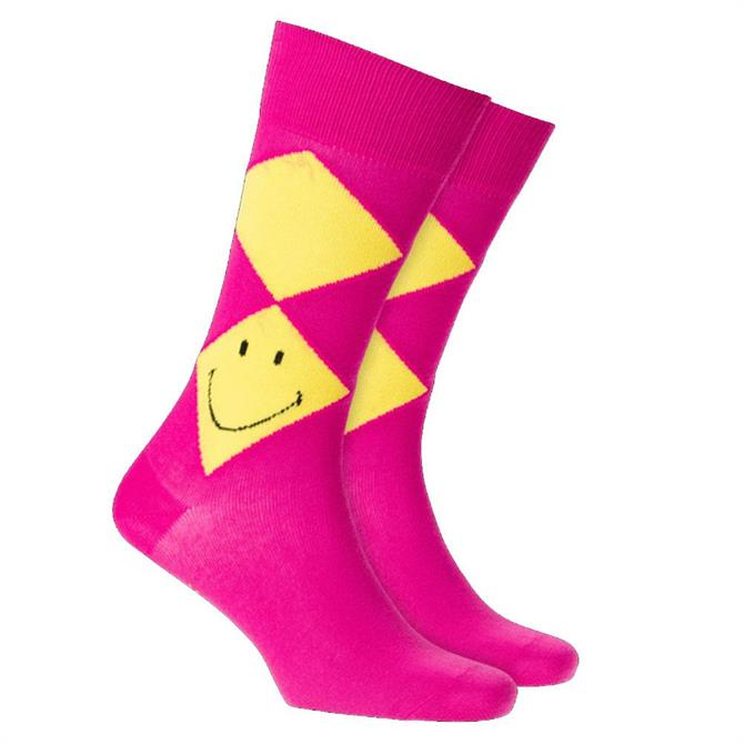 Burlington Smiley® Argyle Men Socks