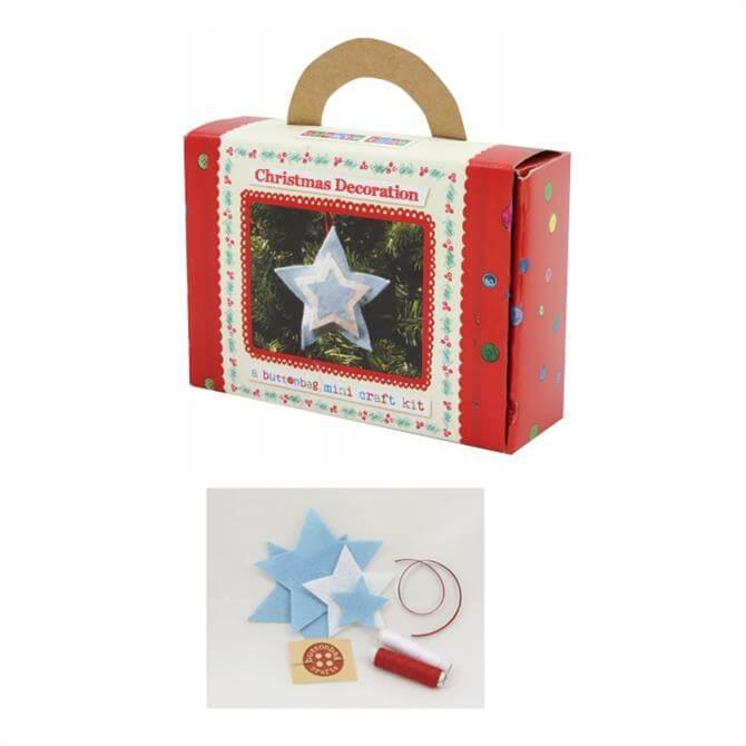 Button Bag Christmas Star Mini Kit
