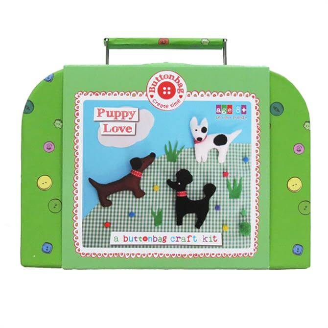Buttonbag Puppy Love Suitcase