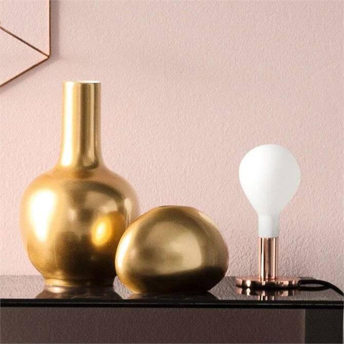 Calligaris Vase Polished Brass