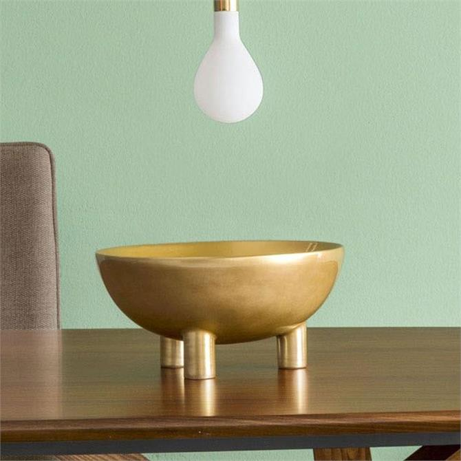Calligaris Lift Centerpiece Polished Brass