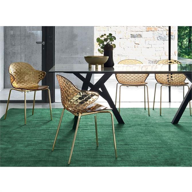 Calligaris Saint Tropez Metal Dining Chair