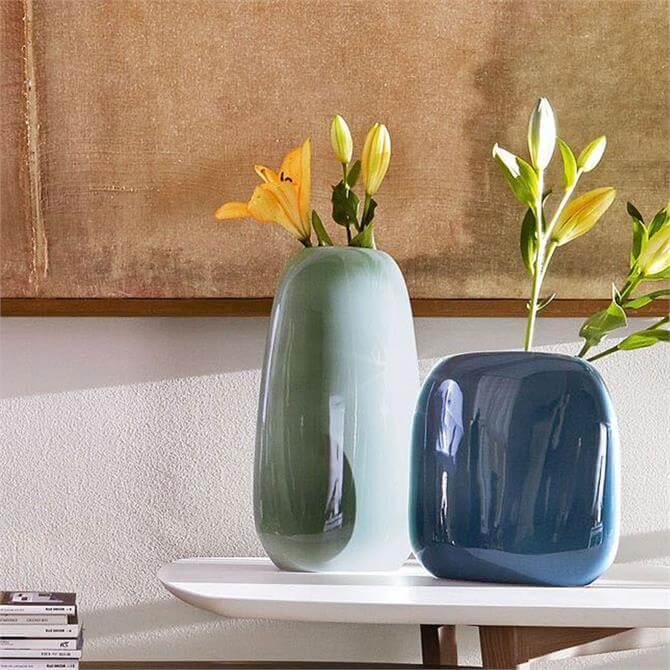 Calligaris Ceramic Vase in Sage Green