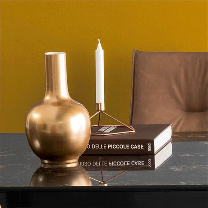 Calligaris Vase Ceramic in Copper